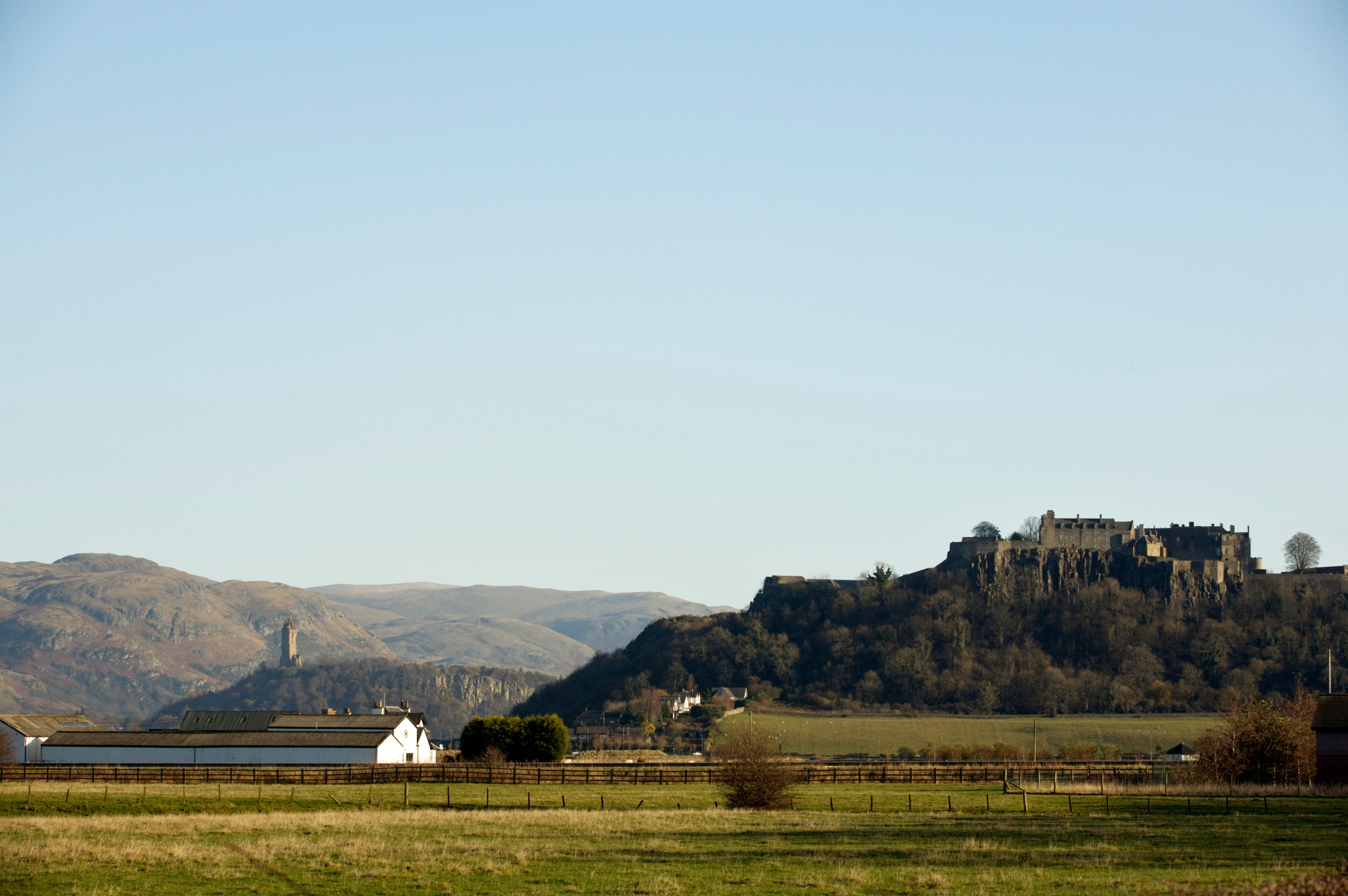 View of Stirling Castle