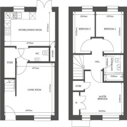Moray house type floorplan