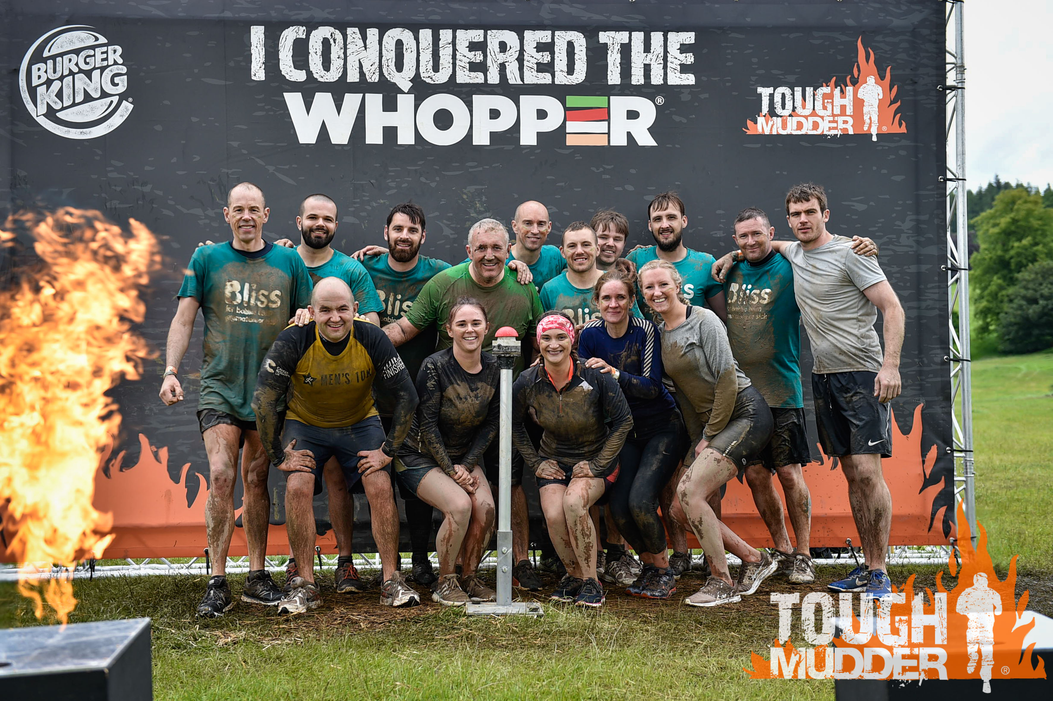 Cruden team at Tough Mudder event