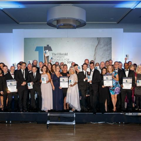 Cruden Homes take Centre Stage at The Herald Property Awards 2017!