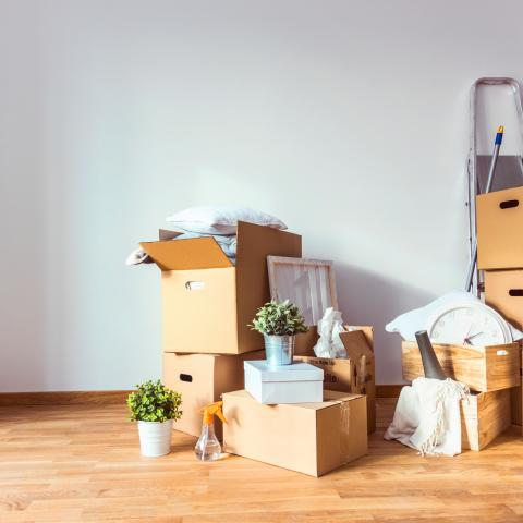 Moving house image