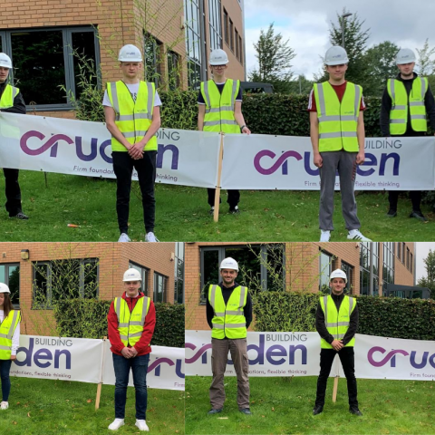 Cruden Group apprentices 2020
