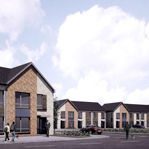 CGI of planned Sanctuary homes