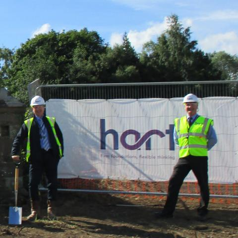 Hart Builders in Newtongrange