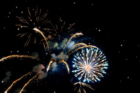 Fireworks display image