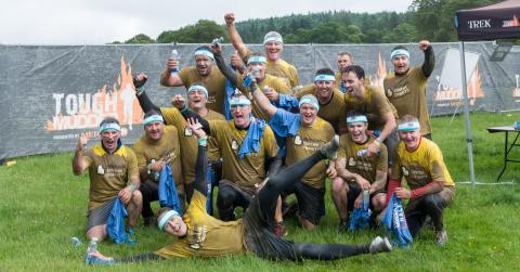 Tough Mudder Team Cruden 75