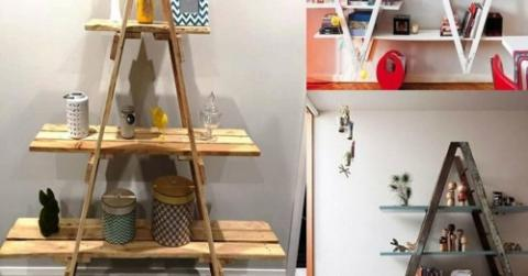 upcycling stepladders