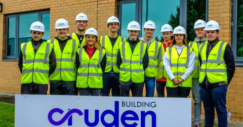 Cruden's 2019 apprentices