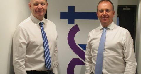 Andy McLinden, commercial directo and Andy Mallice managing director of Hart Builders